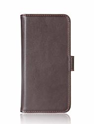 Étui pour mi 6 redmi note 4 porte-carte porte-monnaie porte-monnaie avec support flip boîtier magnétique plein corps couleur solide cuir