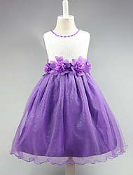 Ball Gown Knee Length Flower Girl Dress