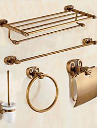 Недорогие -Набор аксессуаров для ванной / Старая латунь Старинный