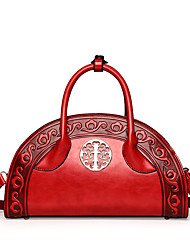 Women Bags All Seasons PU Shoulder Bag for Casual Outdoor Blue Green Red Yellow