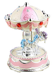 cheap -Music Box Toys Square Plastic Metal Pieces Children's Girls' Gift