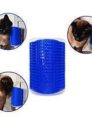 cheap -Cat Dog Brushes Comb Massage Blue