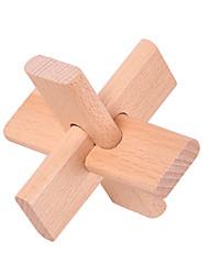 Недорогие -Пазлы Любань блокировки Строительные блоки Игрушки своими руками Дерево Оригинальные и забавные игрушки
