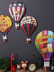 1PC Random Color Original Bar Accessories Wall Decor Wood Contemporary Retro Wall Art1