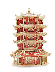 3D Puzzles Jigsaw Puzzle Toys Famous buildings Architecture 3D Unisex Pieces
