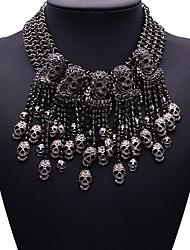 Жен. Заявление ожерелья Бижутерия Прочее Синтетические драгоценные камни Сплав Мода Euramerican Бижутерия Назначение Для вечеринок