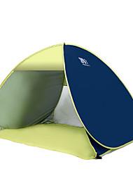 COME 3-4 Pessoas Tenda Cabana de Praia Único Barraca de acampamento Um Quarto Portátil Resistente Raios Ultravioleta para Campismo Viajar