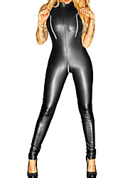 cheap -Women's Ultra Sexy Nightwear,Sexy Solid-Medium Patent Leather