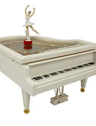 Недорогие -музыкальная шкатулка Пианино Классика Вращающийся Взрослые Дети Подарок Универсальные