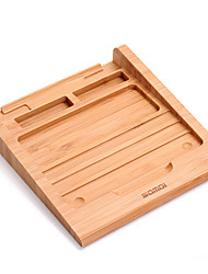 Samdi Classic Bamboo Wireless Bluetooth Touchpad Dock Vogue Rack Holder Stand Bracket for Apple Magic Trackpad Macbook Fashion