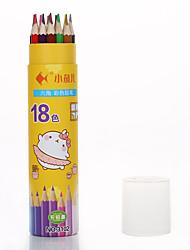 Недорогие -Краски карандаши в 18 цветах