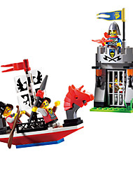 cheap -ENLIGHTEN Building Blocks / Model Building Kit / Educational Toy Ship Classic Boys' Gift
