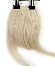 economico -neitsi 1pcs 8 '' 25g / pc Clip in su capelli sintetici dritti corti capelli frangia frangetta 613 #