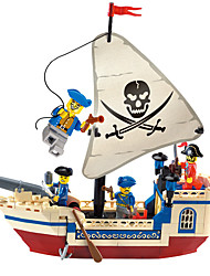 cheap -ENLIGHTEN Building Blocks / Model Building Kit 188 pcs Pirate Ship / Pirates Gift