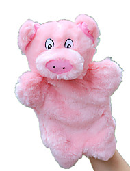 cheap -Finger Puppets Puppets Hand Puppet Toys Rabbit Pig Cute Animals Lovely Plush Fabric Plush Kids Kid Pieces