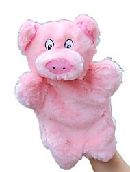economico -Marionetta da dito Marionette Marionetta Giocattoli Rabbit Maiale Carino Animali Adorabile Tessuto felpato Felpato Bambino Pezzi