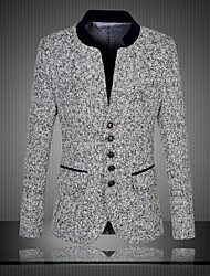 cheap -Men's Party Daily Vintage Chinoiserie Spring Fall Blazer