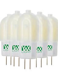 economico -YWXLIGHT® 5 pezzi 3W 300-400 lm Luci LED Bi-pin T 18 leds SMD 2835 Bianco caldo Luce fredda Bianco