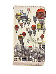 Etui til Apple iPhone 7 7 plus iPhone 6s 6 plus iPhone Se 5s 5c 5 iPhone 4s 4 Cover Cover Balloon Pattern pu Leather Cases