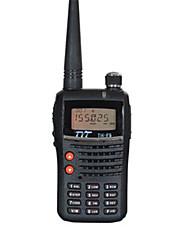 Недорогие -TYT TH-F5 Радиотелефон Для ношения в руке Двойной диапазон / LCD / FM-радио 1,5 - 3 км 1,5 - 3 км 128 1500mAh 5W Walkie Talkie