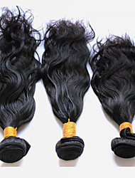 abordables -3 paquetes Cabello Peruano Ondulado Natural Cabello Virgen Tejidos Humanos Cabello 8-28 pulgada Cabello humano teje Extensiones de cabello humano
