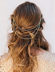 Shixin® Alloy/Imitation Pearl/Rhinestone Headbands Wedding/Party/Daily/Casual 1pc