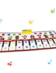Baby Toys Musical Play Mat 100x40cm Big Size Music Tapetes Carpet Tapete Infantil Music Mat
