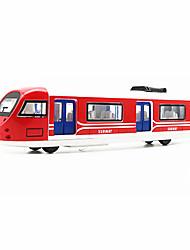 Недорогие -Игрушечные машинки Игрушки Поезд Игрушки моделирование Шлейф Металлический сплав Железо Куски Универсальные Подарок