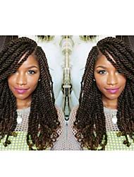 Недорогие -Волосы для кос Кудрявый / Классика Накладки из натуральных волос 30 корней / пакет косы волос Повседневные