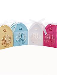 Недорогие -50pcs цветок свадьбы способствует коробке конфеты поле партия украшения