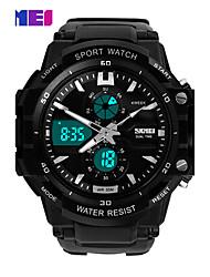 cheap -Men's Dress Watch Smart Watch Fashion Watch Wrist watch Chinese Digital Calendar / date / day Chronograph Dual Time Zones Noctilucent