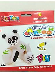 Wind-up Toy Toys Cat Monkey Bear Plastics Lovely Pieces Unisex Toddler Gift