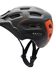 baratos -Adulto Capacete de bicicleta Resistente ao Impacto, Peso Leve, Ajustável EPS Esportes Ciclismo de Estrada / Ciclismo de Lazer / Ciclismo / Moto - Preto / Cinzento / Vermelho / Viseira Removível