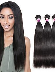 8A Peruvian Texture Remy Virgin Straight Human Hair 3 Bundles Unprocessed 100% Human Hair 300g/Set