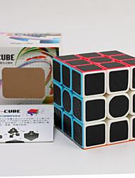 Недорогие -Волшебный куб IQ куб z-cube Углеродное волокно Спидкуб Кубики-головоломки 3D пазлы Пазлы головоломка Куб Гладкий стикер Детские Игрушки Универсальные Подарок
