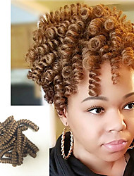 cheap -Bouncy Curl kenzie curls kanekalon crochet braids 20inch Braiding Curls Kinky Twisted Freetress synthetic curly Braiding hair extension