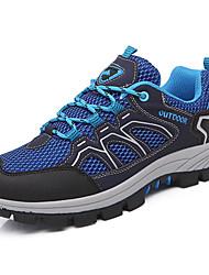 Da uomo scarpe da ginnastica Tulle Primavera Estate Escursionismo Più materiali Piatto Verde militare Blu 5 - 7 cm