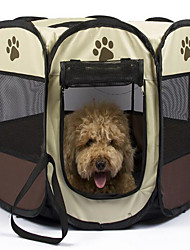 Dog Pet Covers Solid Waterproof Portable Double-Sided Breathable Foldable Soft Massage Tent Adjustable Yellow Coffee Red For Pets
