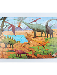 cheap -Wooden Puzzles Toys Square Dinosaur Large Size Wood Children's Pieces