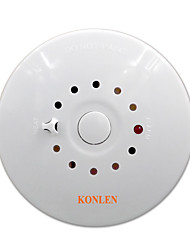 cheap -Fire Smoke Detector and Heat Temperature Sensor Alarm 2 in 1 Combination Detector Wired 12V for House Safety