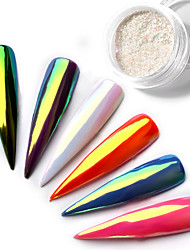 cheap -1pcs Powder Sequins Classic High Quality Daily Nail Art Design