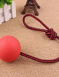 baratos -Bola Treinamento Interativo Fofinho Corda Instalação Fácil Elástico Borracha Para Gato Cachorro