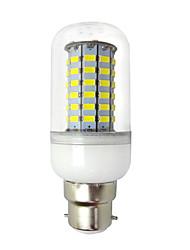 cheap -4.5W 400 lm E14 B22 LED Corn Lights 69 leds SMD 5730 Warm White Cold White AC85-265 AC 85-265V