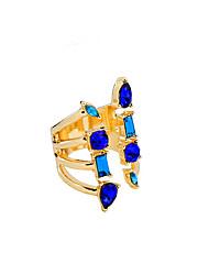 cheap -Women's Ring Unique Design Euramerican Fashion Alloy Jewelry 147 Wedding Party Anniversary Birthday 1 pcs