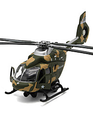 cheap -Toys Model Building Kit Helicopter Toys Simulation Plane / Aircraft Helicopter Metal Alloy Metal Pieces Unisex Gift
