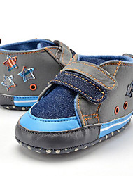 cheap -Children's Baby Shoes Fabric Summer Fall First Walkers Loafers & Slip-Ons Split Joint for Casual Party & Evening Dress Blue