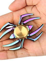 cheap -NEW Fidget Spinner Spider Rainbow 360 Triangle Single Finger Anti-Anxiety 360 Spinner Helps Focusing Fidget Toys High Performance Fast Shipping