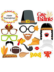cheap -Special Occasion Thanksgiving Material Hard Card Paper Wedding Decorations Holiday Spring, Fall, Winter, Summer