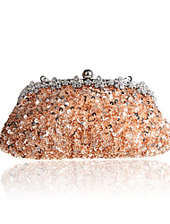 Women Bags Spring Summer Fall Winter All Seasons Silk Evening Bag Sequin Crystal/ Rhinestone for Wedding Event/Party Casual Sports Formal