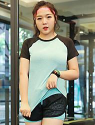 preiswerte -Damen T-Shirt für Wanderer Radfahren Kleidungs-Sets für Rennen Übung & Fitness Ganzjährig L XL XXL XXXL